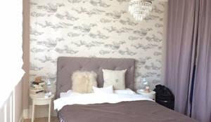 Schlafzimmergestaltung mit neuem Farbkonzept:  Schlafzimmer von Feinstwerk, Feng Shui & Inneneinrichtungen