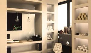 Showroom #Superbe: Negozi & Locali commerciali in stile  di VITAE DESIGN studio di architettura