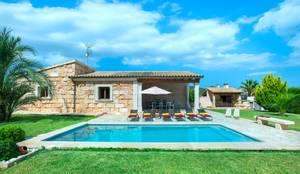 Diseño y construcción de una villa en Mallorca: Casas de estilo  de Diego Cuttone, arquitectos en Mallorca