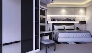 Master bedroom:  Kamar Tidur by Maxx Details