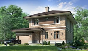 Верден-2_230 кв.м: Дома в . Автор – Vesco Construction