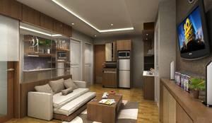 Ruang tamu:  Ruang Keluarga by Maxx Details
