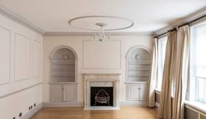 Soggiorno in stile  di Prestige Architects By Marco Braghiroli,