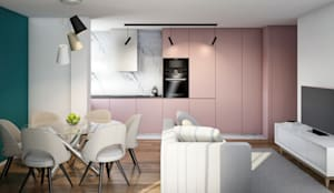 Cozinha integrada: Armários de cozinha  por Alma Braguesa Furniture
