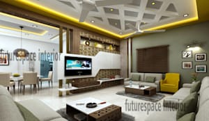 Living room Designs:  Living room by Future Space Interior