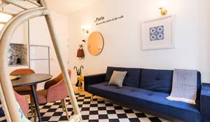 SHI Studio, Sheila Moura Azevedo Interior Design의  거실