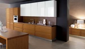 Estanterías únicas: Muebles de cocinas de estilo  por Corporación Siprisma S.A.C, Minimalista