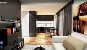 VR ELTA Solutıons – Seba Suites İç Mekan:  tarz Mutfak