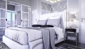 Ruang Utama: Kamar Tidur oleh Maxx Details, Modern