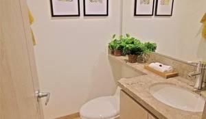 Baño Social: Baños de estilo  por AlejandroBroker