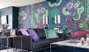 Living: Salas de estar  por Anne Báril Arquitetura