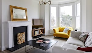 Home Renovation, Forest Hill, London:  Living room by Resi Architects in London