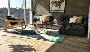 Argenta Livingroom: Salas de estilo  por S P A C E L A B