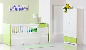 ALCOBA INFANTIL..: Habitaciones infantiles de estilo  por MUEBLERIA Y CARPINTERIA MADEYRA,