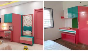 Children Bedroom:  Bedroom by Peak Interior