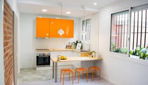 : Cocinas de estilo  por Escarra arquitectos y asociados SAS