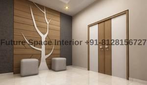 Entrance Ideas:  Corridor & hallway by Future Space Interior