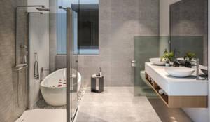 MAIN BATHROOM: Baños de estilo  por Studio17-Arquitectura, Minimalista