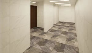 Fachada : Centros Comerciales de estilo  por Árbol Arquitectura