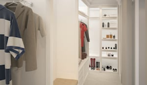 Residence,New Beach,California:  Dressing room by Ground 11 Architects