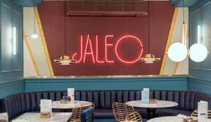 Mural Jaleo: Bares y Clubs de estilo  de Guille Garcia-Hoz, interiorismo y reformas en Madrid