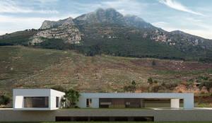 villa in sicilia: Villa in stile  di ALESSIO LO BELLO ARCHITETTO