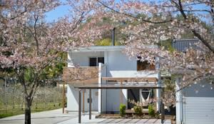 桜の似合う家: 空間工房株式会社が手掛けた一戸建て住宅です。