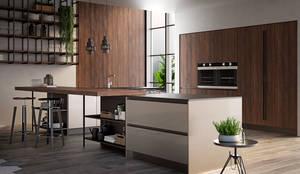 Cucina moderna: Cucina attrezzata in stile  di L&M design di Marelli Cinzia
