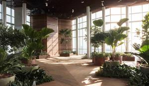 SKYGARDEN: Jardines de estilo  por BODIN BODIN ARQUITECTOS