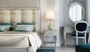 :  Small bedroom by Дизайн интерьера Киев|tishchenko.com.ua,
