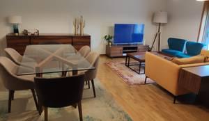 Sala Porto: Salas de jantar  por No Place Like Home ®