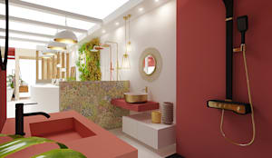Ambiente 2 - Oriente: Casas de banho  por Smile Bath S.A.