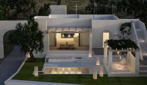 Ristrutturazione a Ugento (LE): Casa unifamiliare in stile  di architetto stefano ghiretti