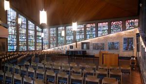 Akzentbeleuchtung einer Kirche:  Museen von Moreno Licht mit Effekt - Lichtplaner