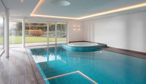 مسبح لانهائي تنفيذ Çilek Spa Design
