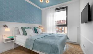 Sypialnia: styl , w kategorii Małe sypialnie zaprojektowany przez Tomasz Miotk Fotografia,
