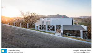 Residencia Chapultepec - Cañadas: Casas de estilo  por René Flores Photography
