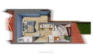 Loft Conversion Layout:  Bathroom by Urbanist Architecture, Modern