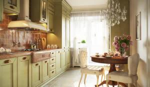 Кухня: Кухни в . Автор – Irina Yakushina