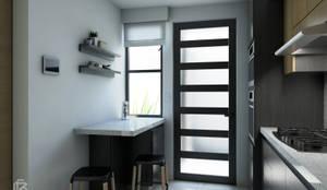 Casa TAF31: Cocinas de estilo  por box04 ARQUITECTURA