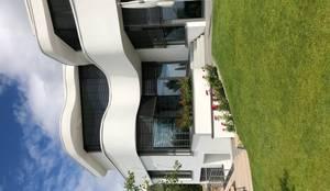 Villa in FFM - Die weißen Villen:  Villa von S3P-Engineering GmbH & Co. KG