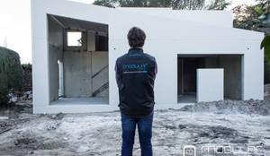Montaje de viviendas prefabricadas: Casas de estilo  de MODULAR HOME