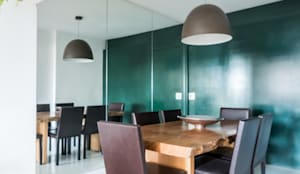 Sala de Jantar Ampla e Arejada: Salas de jantar  por Studio Elã