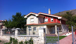 Entrada: Casas rurales de estilo  de riarsa 2006 constructores en burgos