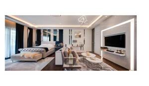 NS house / พระราม2:  ห้องนอน by Thaan Studio