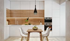 Встроенные кухни в . Автор – 'EDS' Exclusive Design Solutions