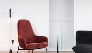 The Blue Mirrored Room #7: styl , w kategorii Salon zaprojektowany przez Studio Laas