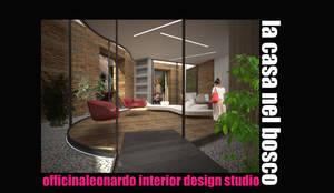 Ingresso: Ingresso & Corridoio in stile  di officinaleonardo