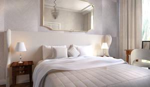 Sypialnia I: styl , w kategorii Sypialnia zaprojektowany przez Decor Living Home