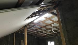 Halif yapı – Çatı Katı İmalatı:  tarz Oturma Odası